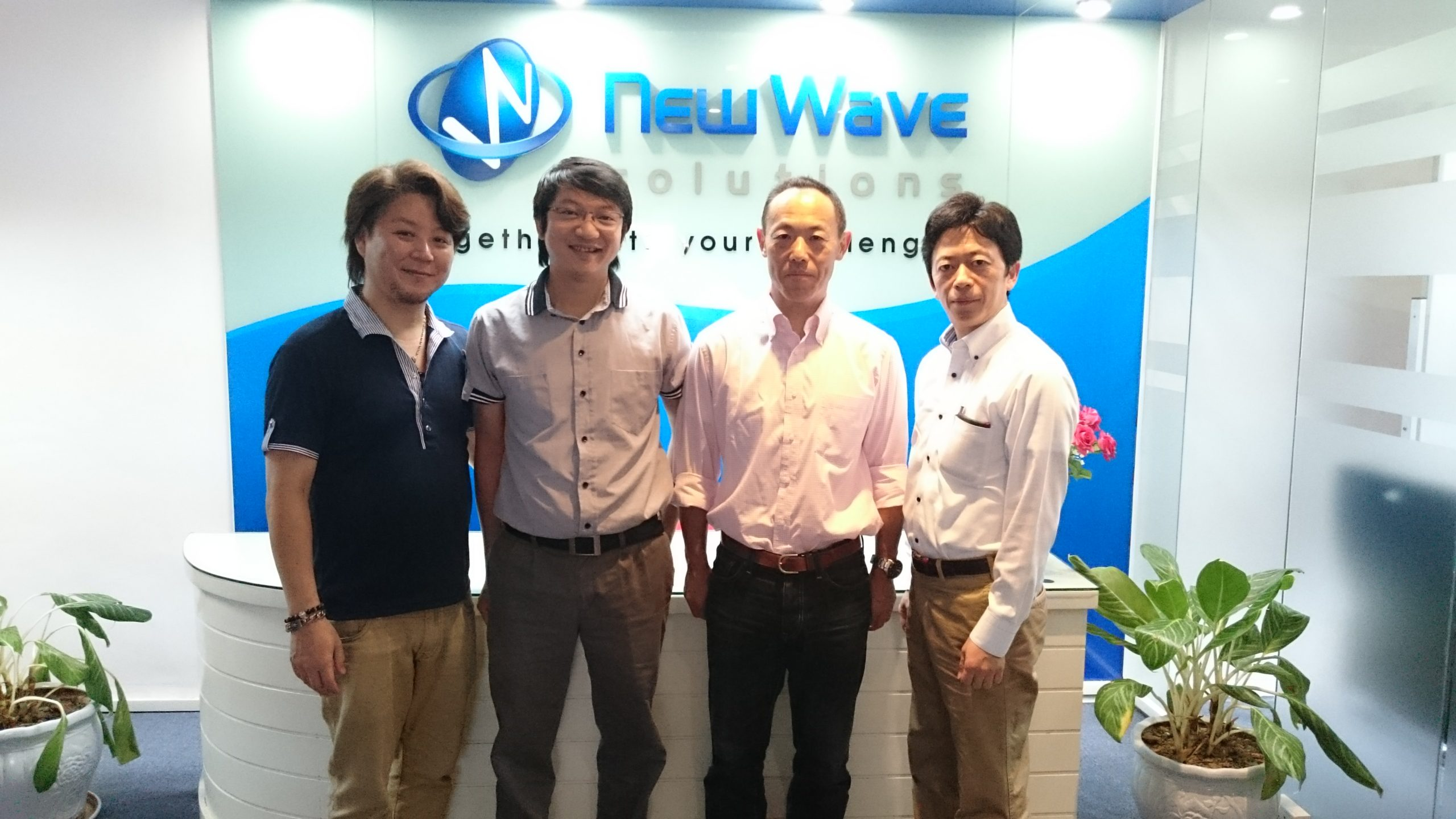 【2015.05】 New Wave Solution社 訪問