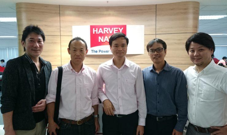 Harvey Nash Vietnam社訪問