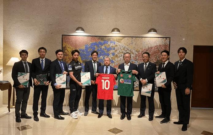 サイゴン FC日本大使表敬訪問
